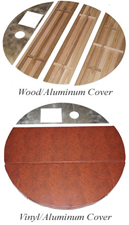 Wood Hot Tub Covers
